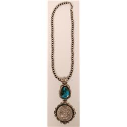 Robert Shakey 1921 Morgan Silver Dollar Necklace  (117012)