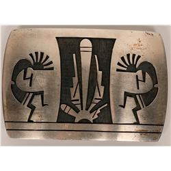 Hopi Belt Buckle  (117022)