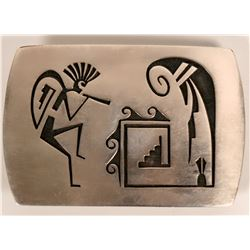 Vintage Hopi buckle  (117023)