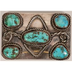 Vintage Navajo Belt Buckle  (117024)