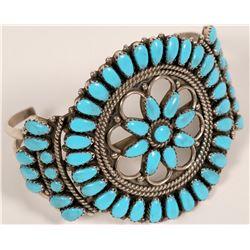Petite Point Turquoise Bracelet  (117028)