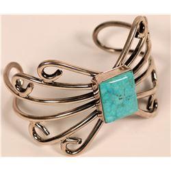 Kingman Turquoise Bracelet  (117029)