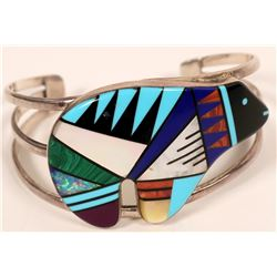 Zuni Bear Fetish Bracelet  (117032)