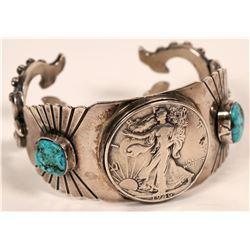 Running Bear Half Dollar Bracelet  (117033)