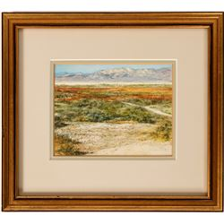 Desert Edge – Painting by Mary Chadwell  (115330)