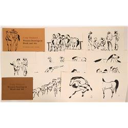 Major Nevada Artist Craig Sheppard Prints & Book Portfolio Set  (115747)