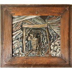 Underground Mine Oil Painting by Gardner  (84828)