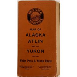 Pocket Map of Alaska, Atlin, the Yukon  (117241)