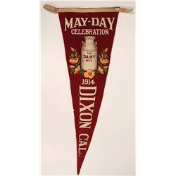 Dixon May Day Pennant  (115706)