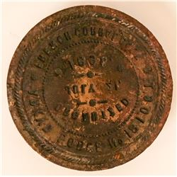 French Corral Temperance Society Corporate Seal  (115620)