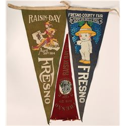 Fresno Raisin Day Pennants 1911-14  (115702)