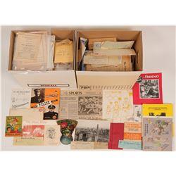 Fresno Area Paper Ephemera Archive  (117061)
