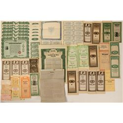 Movie Props- Gold Bonds and Financial Documents  (116471)
