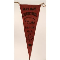 May Day Celebration Pennant  (115705)