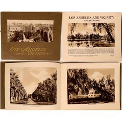 """Los Angeles and Vicinity"" View Book  (115603)"