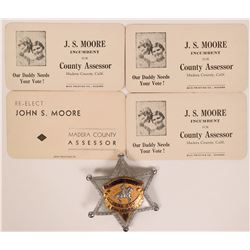 Madera County Sheriff's Posse Badge  (116489)