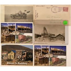 Post Cards from Randsburg, California mining area  (115192)