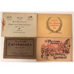 1906 Earthquake Booklets.  (115564)