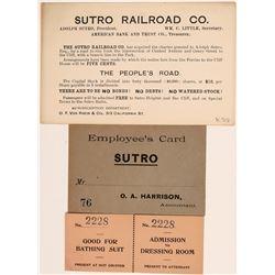 Sutro Baths and Railroad Ephemera  (113031)