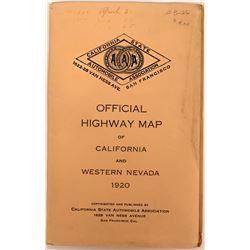 Pocket Map Highways California Western Nevada  (116792)