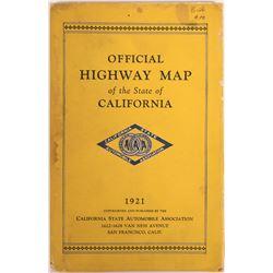 California Highways Pocket Map  (116795)