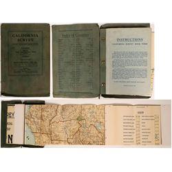 California Survey Map Book  (117245)