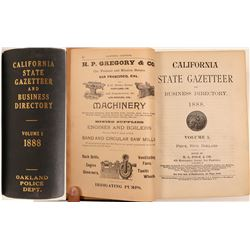 Polk's California State Gazetteer and Business Directory Volume 1, Oakland Police Department  (10848
