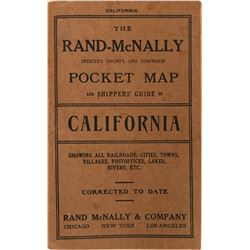 Rand-McNally Pocket Map Shippers' Guide California  (116833)