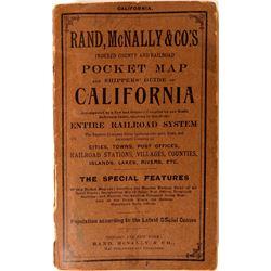 Rand, McNally & Co.'s Pocket Map California  (116836)