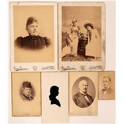 Scarce California Cabinet Cards & Other Photos  (115728)