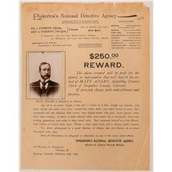 Pinkerton Wanted Poster  (117156)