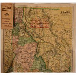 Pocket Map of Idaho, 1910   (111604)