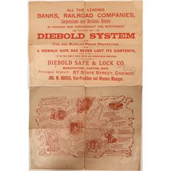 Diebold Safe & Lock Company Broadside Circa 1890  (111602)