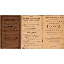 Shipper's Guide of Iowa, Rand McNally, 1892  (111605)