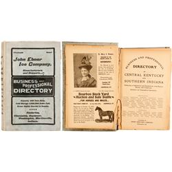 Business and Professional Directory of KY and IN, 1902  (82800)