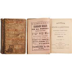 Kansas State Gazetteer and Business Directory  (80279)