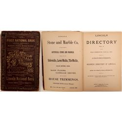 Lincoln Directory for the year commencing June 1st  (108483)