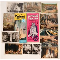Carlsbad Caverns National Monument, New Mexico Brochures (2) Published by Sante Fe Railroad Plus 10