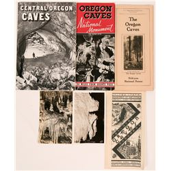 Oregon Cave Brochures (4) + Postcards (2)  (116296)