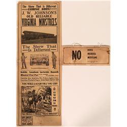 Black American Memorabilia  (105940)