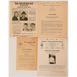 Four Wanted Poster From Missing to Murder  (117161)
