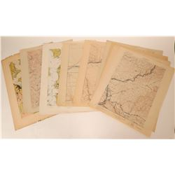 Washington, Oregon, and Idaho USGS Topographic Maps  (115320)