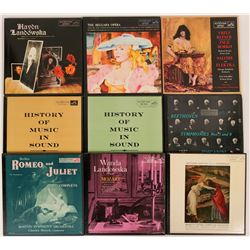 Boxed Classical 33 rpm Album Sets  (116681)