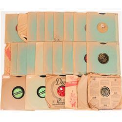 Small 78 rpm Record Group  (116676)