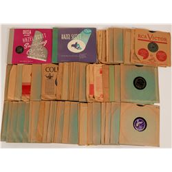 Swing & Bop 78 rpm Records  (116449)