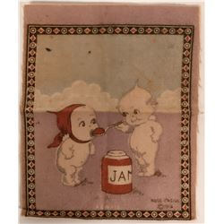 Original Kewpie Cartoon Felt, c.1914  (113160)