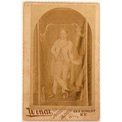 Cabinet Card of Three-legged Man  (113165)