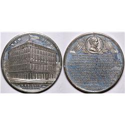 Gem Uncirculated P. T. Barnum Circus Medal  (116502)