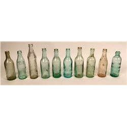 Fresno and Madera soda bottle collection  (116715)