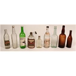 Fresno Whiskey and Beer Bottles  (116716)